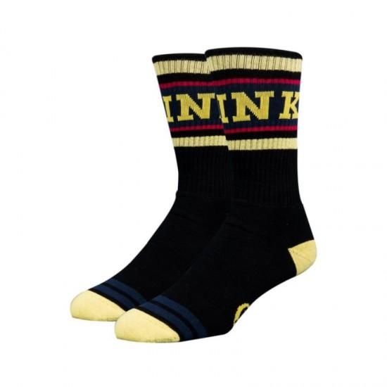 Чорапи Stinky player black - Player s-m yellow - на супер цена 19.00лв
